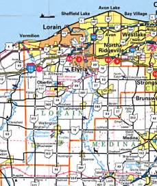 Lorain Ohio Map by Forgotten Ohio Lorain County