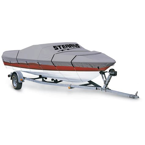 boat canvas covers stearns 174 weatherproof canvas boat cover 131395 boat