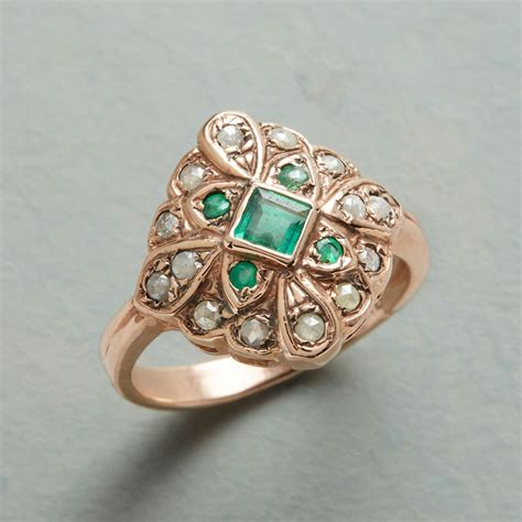 Handcrafted Artisan Jewelry - new arik kastan eternity emerald ring sundance