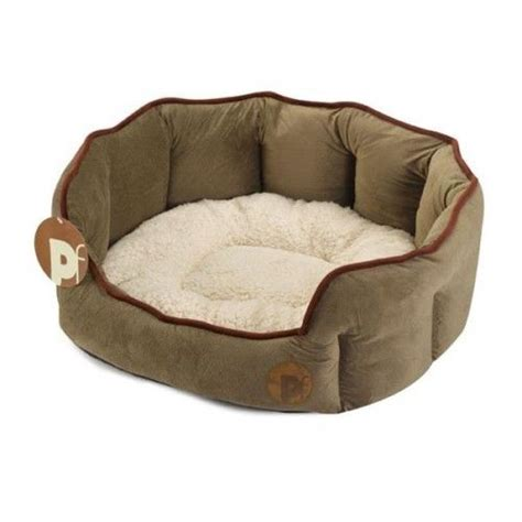Jo In Washable Kennel L petface country oval beds washable 2 colours small