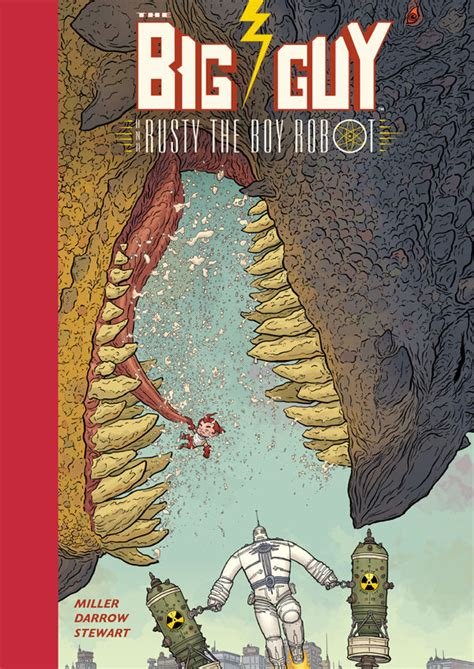 Rt Giveaway Picker - retweet to win the big guy and rusty the boy robot new edition hc blog dark