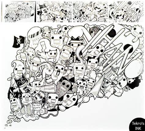 domo doodle drawing domo doodle by tekrovergara on deviantart