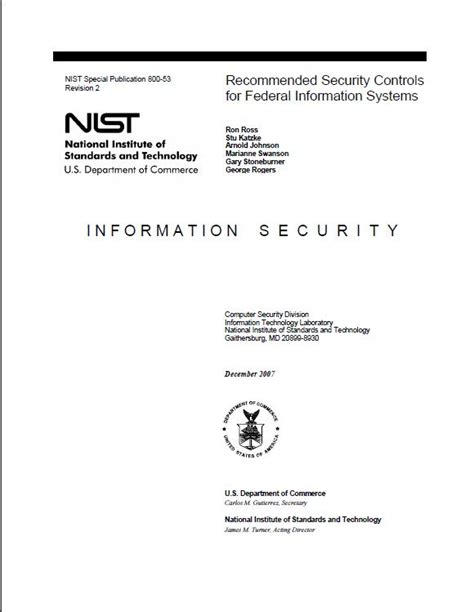 Nist 800 10 Gallery Configuration Management Plan Template Nist
