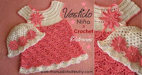 modelo de tejido para ninos aprender manualidades es facilisimo vestido para ni 241 a tejido a crochet o ganchillo f 225 cil y