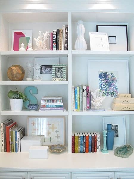 how to decorate bookshelves styling a bookcase twoinspiredesign