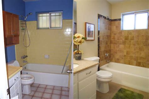 bathroom makeovers before and after bathroom glamorous bathroom remodel pictures before and