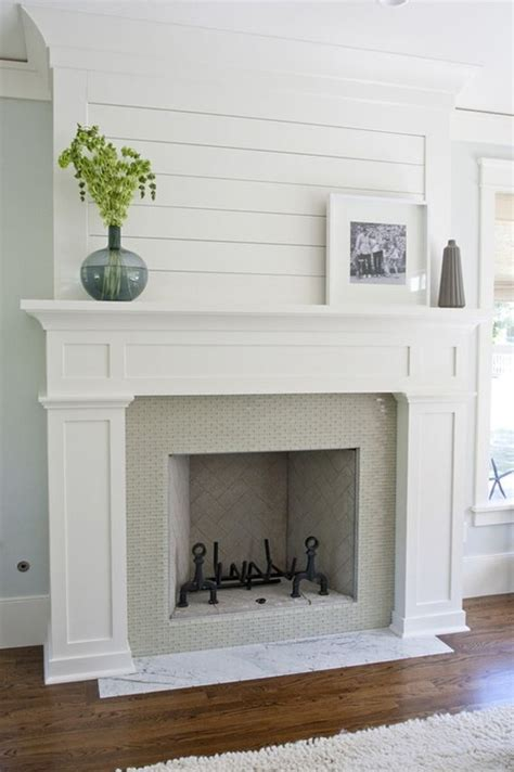 How To Build Fireplace Mantel And Surround by How To Build A Fireplace Surround For A Gas Fireplace