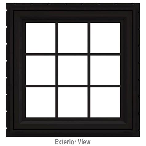 jeld wen awning windows jeld wen 35 5 in x 35 5 in v 4500 series fixed octagon