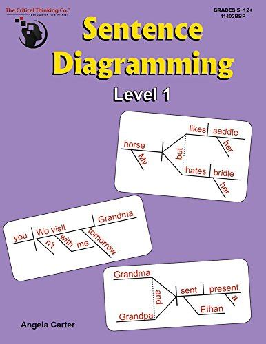 diagramming sentences book sentence diagramming level 1 breakdown and learn the