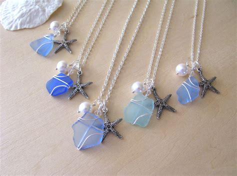 Handmade Jewelry Boston - boston sea glass custom wedding jewelry