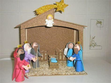 imagenes del nacimiento de jesus reciclado los elementos cosas recicladas