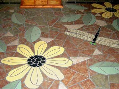 flower design floor tiles be inspired 8 unique flooring ideas from rate my space