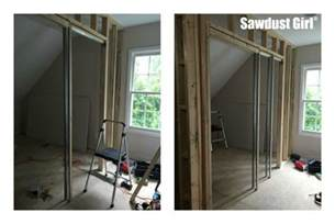 how to install a pocket door frame sawdust 174