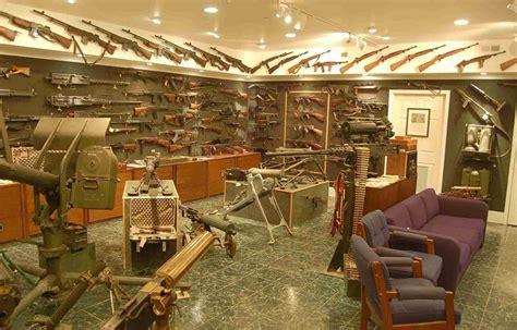 dans gun room anorak charlton heston s home gun collection