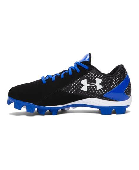 armour baseball shoes s armour leadoff low rm baseball cleats ebay
