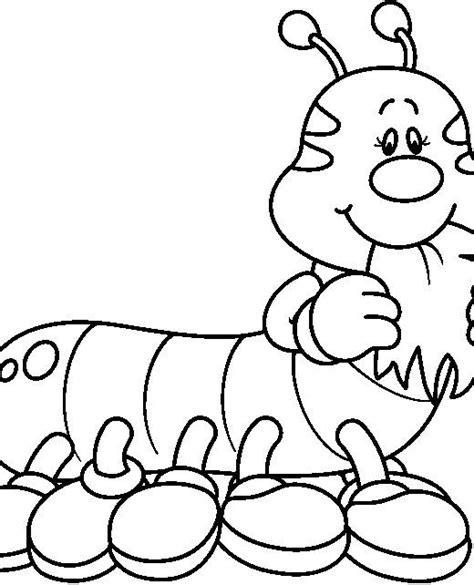 imagenes infantiles tiernas para colorear imagenes de orugas en caricatura para colorear imagui