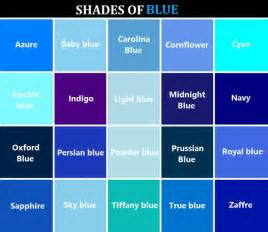 colors of blue color names for blue search my true colors