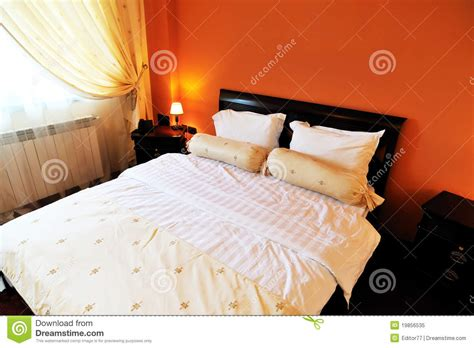 matrimonial bed matrimonial bed inside the hotel room royalty free stock photo image 19856535