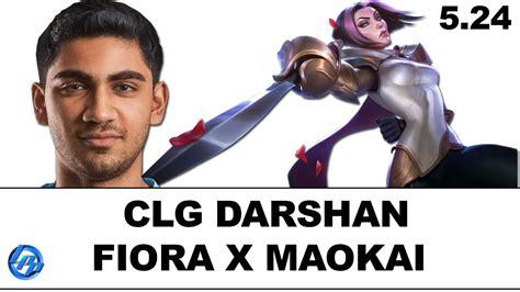 fiora pro builds clg darshan fiora vs maokai na soloq