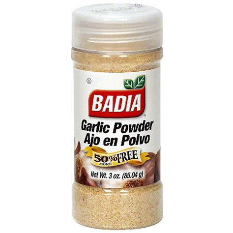 garlic powder alsultan badia garlic powder 3 oz pack of 12 walmart