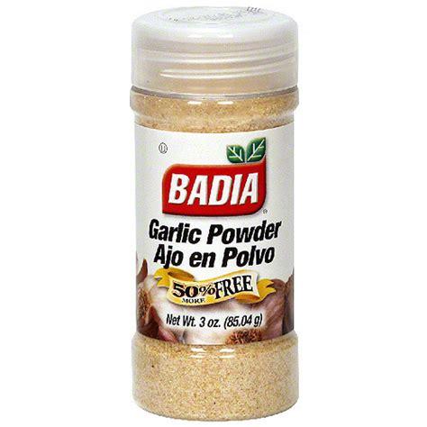 Garlic Powder Alsultan badia garlic powder 3 oz pack of 12 walmart