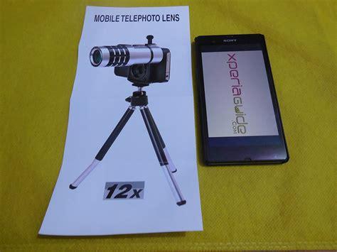 Tripod Sony Xperia review sony xperia z 12x zoom telescope with tripod stand