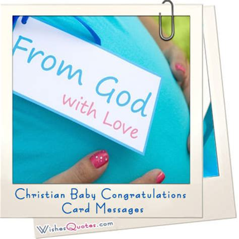 Christian Baby Shower Card Messages by Christian Baby Congratulations Card Messages