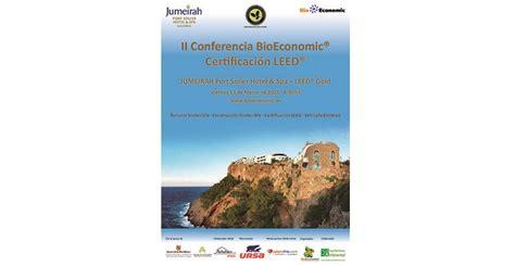 cadenas hoteleras propietarias la ii conferencia bioeconomic certificaci 243 n leed tratar 225