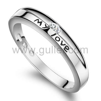 cheap engraved promise rings for sterling silver