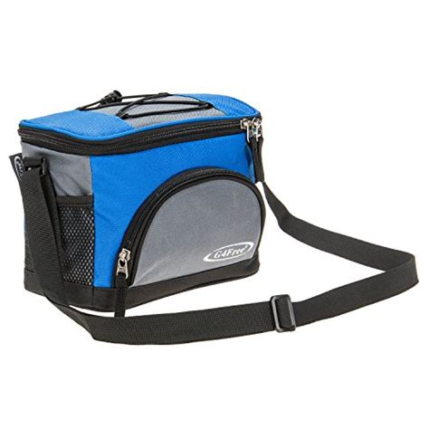 Lunch Bag Foil Inside g4free 5 6 can lunch bag soft cooler bag with leakproof foil lining keep cool or warm for