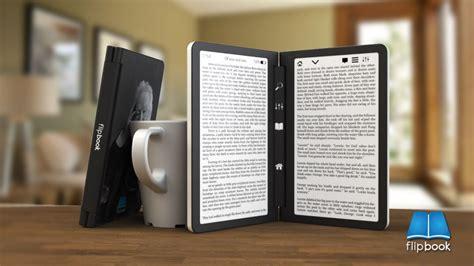 e reader new dual screen e reader concept