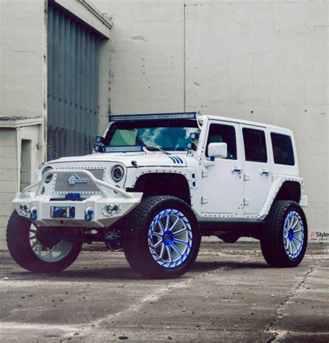 Who Makes Jeep Mc Customs Makes Jeep Wrangler Bling Tastic The News Wheel