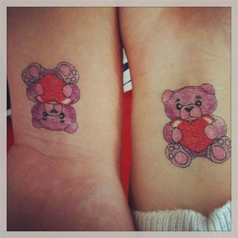 31 cute tattoo ideas for couples to bond together bear