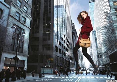 film evolution coco coco rocha s longch caign conjures king kong images