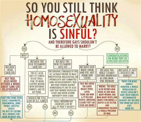 So You Still Think Homosexuality Is Sinful?   All the