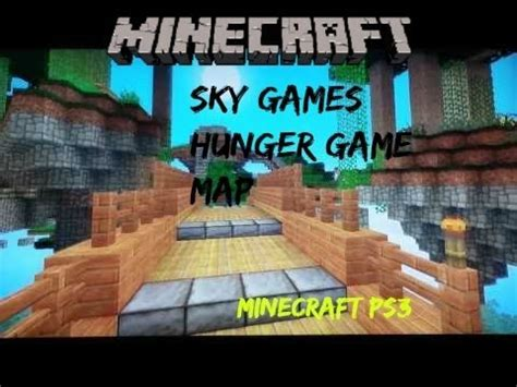 theme hunger games ps3 minecraft ps3 hunger games map sky games download youtube