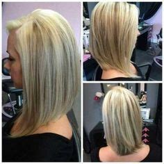 layered angled bob by gia platinum blonde by layered angled razor cut bob with platinum blonde hilites