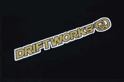 driftworks logo tshirt midas small only clearance