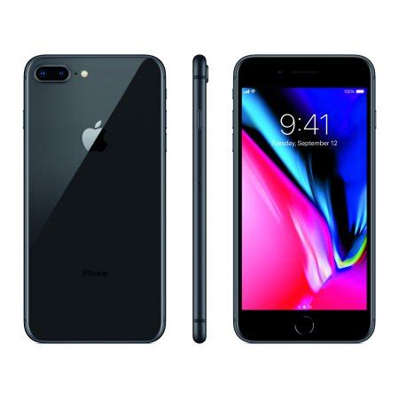 total wireless prepaid apple iphone 8 plus 64gb space gray walmart
