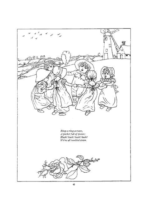 printable children s nursery rhymes free free nursery rhymes coloring pages