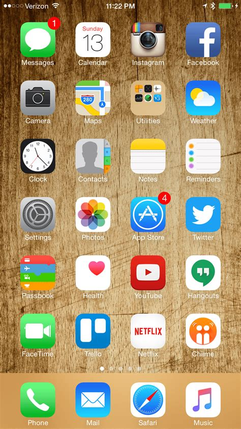 home screen layout strategy 100kelvins