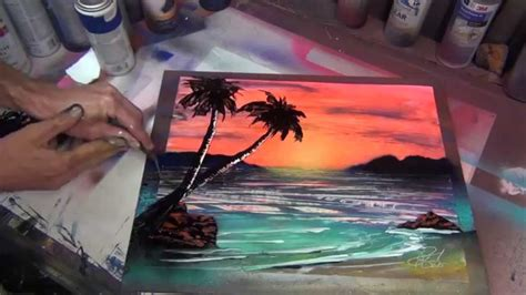 The Time Lapse Spray Paint