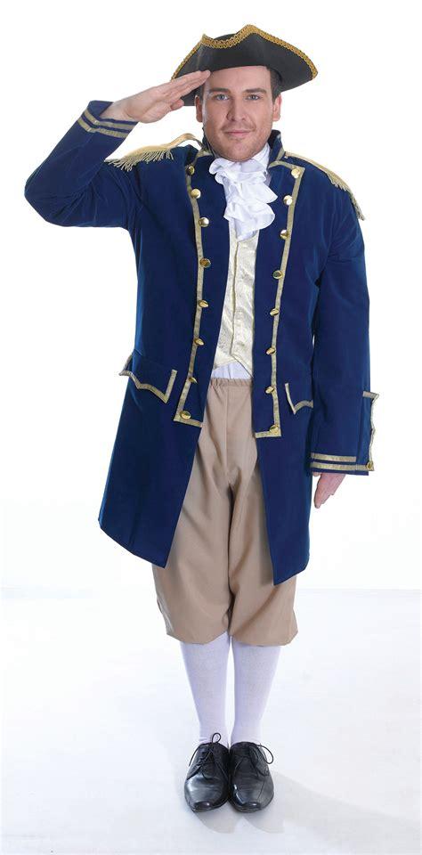 Dress Fast Hijau Army Blue Ac mens admiral of the fleet costume