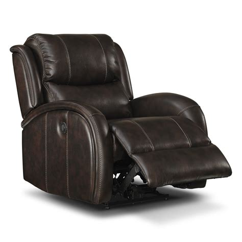 powered recliners leather furnishings for every room online and store furniture