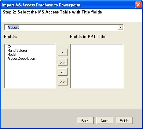Html Table Title Access In Powerpoint