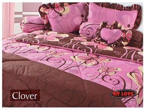 Sprei My Olifant digital catalog bed sheet bed cover my my clover