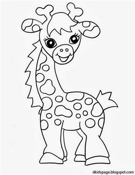 Baby Giraffe Coloring Pages baby giraffe coloring pages az coloring pages