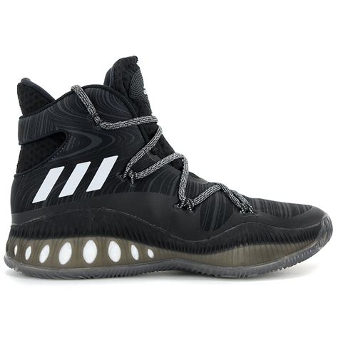 basketball shoes information adidas men s explosive boost black white