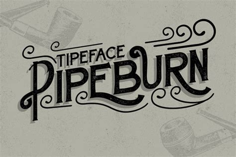 typography and typeface font of the day pipeburn creative bloq