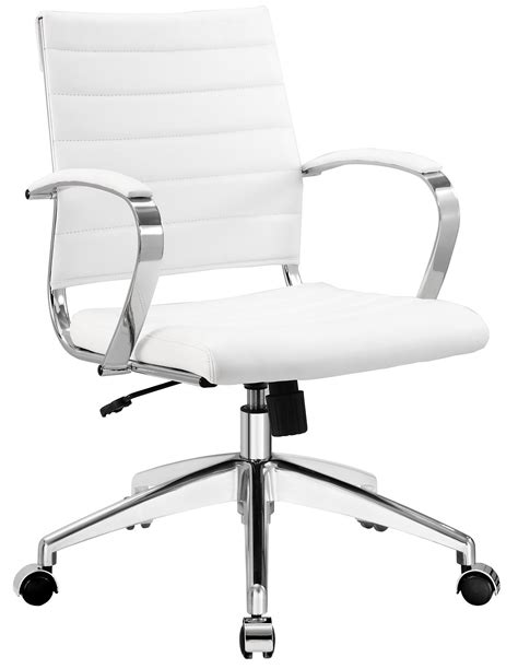 white office desk chair aria leather office chair advancedinteriordesigns com